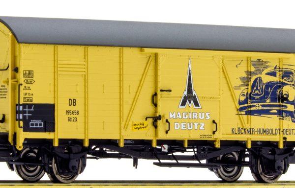 """Brawa 48715 Gedeckter Güterwagen """"Magirus Deutz"""""""