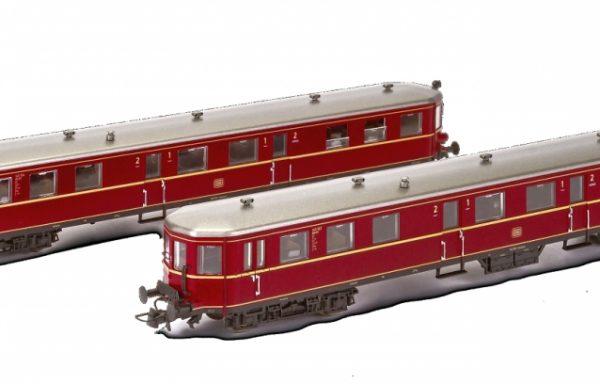 Hobbytrain H304001 – 2tlg. VS 145 Steuerwagen DB Ep. III AC