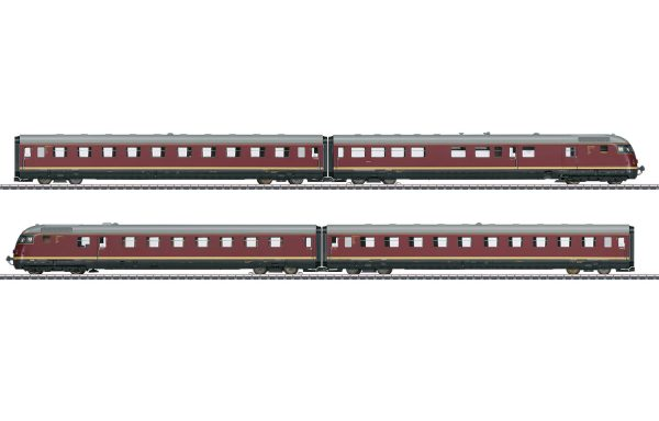"Märklin 39082 – Diesel-Triebwagenzug VT 08.5 ""Paris-Ruhr"""