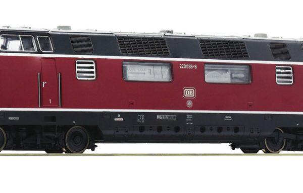 Roco 52680 – Diesellokomotive BR 220